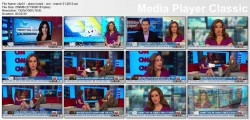 ALISON KOSIK legs - cnn - march 31, 2013
