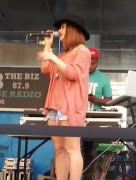 JoJo Levesque at Baruch College's Spring Fling in NYC - May 2, 2013