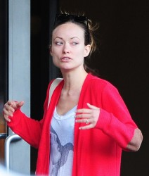 Olivia Wilde - out in NYC 5/2/13