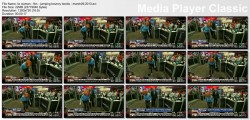 LIZ CLAMAN jumping bouncy breasts - fbn - march 29, 2013 - *bouncy slomo*
