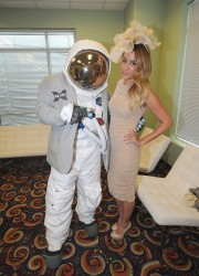 Lauren Conrad - AXE Astronauts at the Kentucky Derby 5/4/13