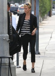 Charlize Theron - out in LA 5/5/13
