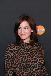 Carla Gugino - MasterCard Priceless Premieres presents Justin Timberlake in NYC 5/5/13