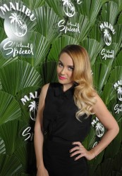 Lauren Conrad - Malibu Island Spiced by Malibu Rum launch in NY 5/7/13