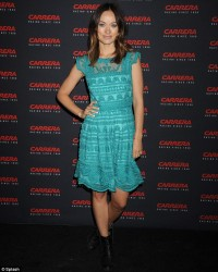 Olivia Wilde - Carrera retrospective exhibition in NYC 5/7/13