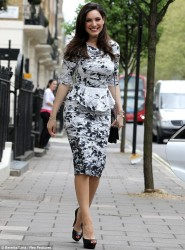 Kelly Brook - out in London 5/8/13