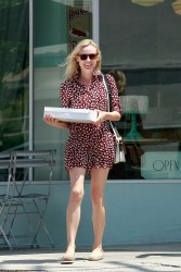 Diane Kruger - out in LA 5/10/13