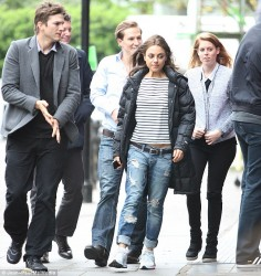 Mila Kunis - out in London 5/11/13