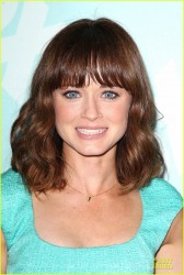 Alexis Bledel - 2013 Fox Programming Presentation Party in NYC 5/13/13