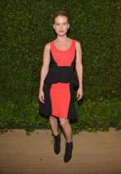 Alice Eve - Vogue & MAC Cosmetics dinner in LA 5/13/13