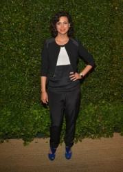 Morena Baccarin - Vogue &amp;amp; MAC Cosmetics dinner in LA 5/13/13