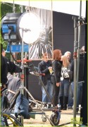 Scarlett Johansson on the Set of Captain America: The Winter Soldier in Washington, D.C. - May 14, 2013