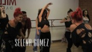 Selena Gomez Dancing at The Millennium Dance Complex in Los Angeles on May 15, 2013