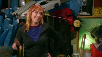 Kari Byron - Mythbusters s12e03 - Earthquake Survival - HD caps &amp;amp; Gifs - 15/5/13