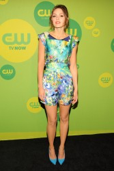 Aimee Teegarden - CW Network 2013 Upfront in NYC 5/16/13