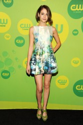 Willa Holland - CW Network 2013 Upfront in NYC 5/16/13