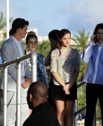 Emma Watson - on the Canal+ TV Stage at the 66th Cannes Film Festival 5/17/13