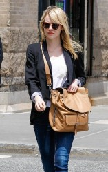 Emma Stone - out in NYC 5/17/13