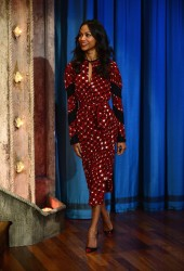 Zoe Saldana - On Late Night With Jimmy Fallon 5/17/13
