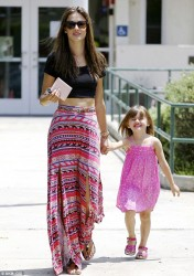 Alessandra Ambrosio - out in Santa Monica 5/17/13