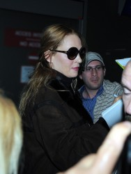 Uma Thurman - at the airport in Cannes 5/18/13