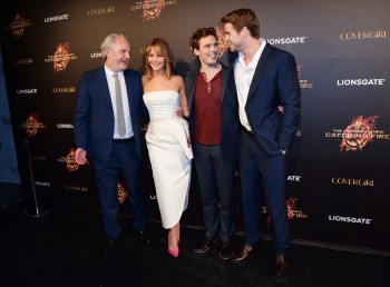 Jennifer Lawrence The Hunger Games Catching Fire Party 17