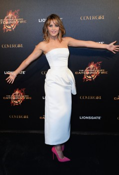 Jennifer Lawrence The Hunger Games Catching Fire Party 11