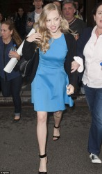 Amanda Seyfried - out in NY 5/18/13