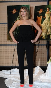 Jennifer Lawrence The Hunger Games Catching Fire Photocall 15