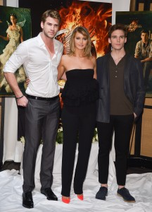 Jennifer Lawrence The Hunger Games Catching Fire Photocall 24