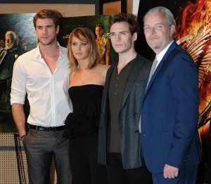 Jennifer Lawrence The Hunger Games Catching Fire Photocall 33