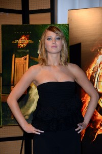 Jennifer Lawrence The Hunger Games Catching Fire Photocall 10
