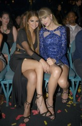 Selena Gomez and Taylor Swift at the 2013 Billboard Music Awards in Las Vegas on May 19, 2013