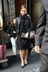 Jessica Alba - out in NYC 5/20/13