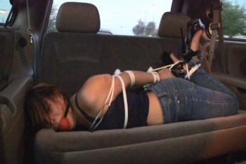 Kidnapped and Thrown in the Back Seat