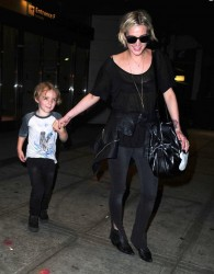 Ashlee Simpson - At JFK Airport 5/21/13