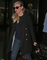Kirsten Dunst - at JFK Airport in NYC 5/21/13