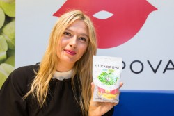 Maria Sharapova - Sugarpova Candy Collection launch in Paris 5/22/13