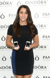 Aly Raisman - at the Pandora Store in NYC 5/22/13