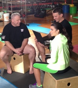 Danica Patrick in Spandex on the Set of a GoDaddy Commercial