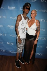 Amber Rose - 'Ditch Fridays' during the Memorial Day Weekend At Palms Resort in Las Vegas 5/24/13