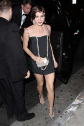 Christa B. Allen - at Bootsy Bellows in West Hollywood 5/25/13