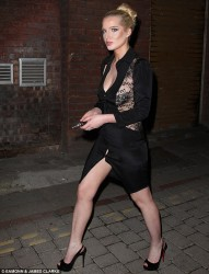 Helen Flanagan - out in Manchester 5/25/13
