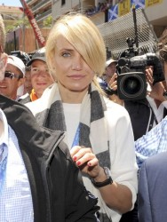 Cameron Diaz - at the Grand Prix of Monaco in Monte Carlo 5/26/13