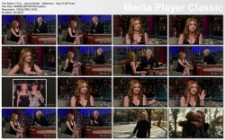 JENNA FISCHER cleavage - LETTERMAN - May 13, 2010 - *hot*
