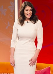 Gemma Arterton - visits the Lorraine show in London 5/28/13