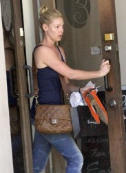 Katherine Heigl - at a spa in New Orleans 5/28/13