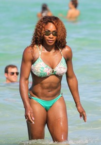 Serena Williams - Bikini Ass Shots in Miami Beach (6/15/13)