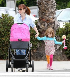 Alyson Hannigan - out in Santa Monica 6/15/13