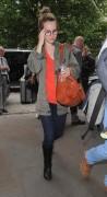 Bridgit Mendler at her hotel in London 6/18/13